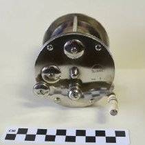 "Image of B. C. Milam No. 9 ""Tarpon"" saltwater fishing reel - Reel, Fishing"