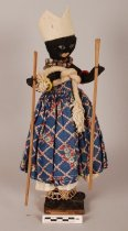 Image of Xango cult doll; Brazil (With scale)