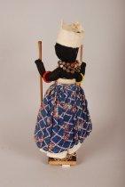 Image of Xango cult doll; Brazil (Alternate view)