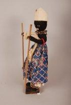 Image of Xango cult doll; Brazil (Profile view)