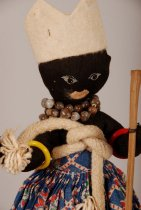 Image of Xango cult doll; Brazil (Design detail)