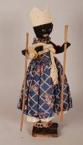 Image of Xango cult doll; Brazil
