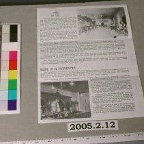 Image of 2005.2.12 - Handbill