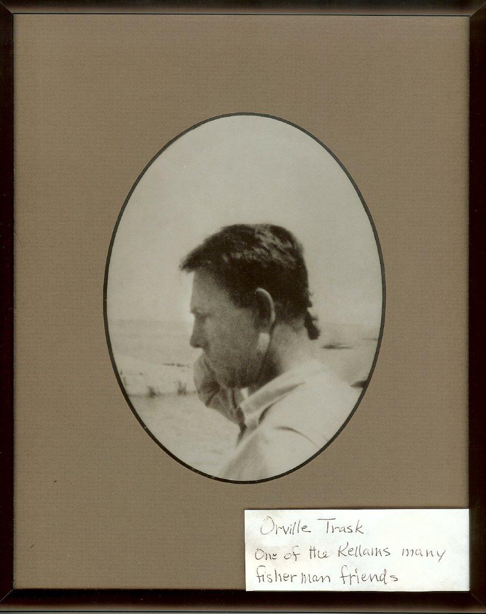 Orville Trask, lobster dealer, 1947 ledger