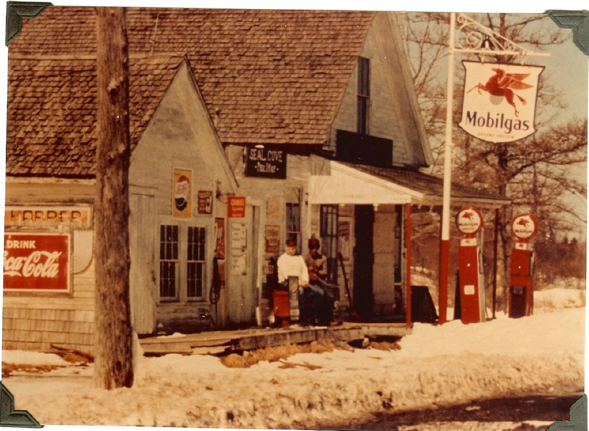 """Old post office at """"Center"""", Seal Cove, Maine, home formerly belonging to Seth Harper"""