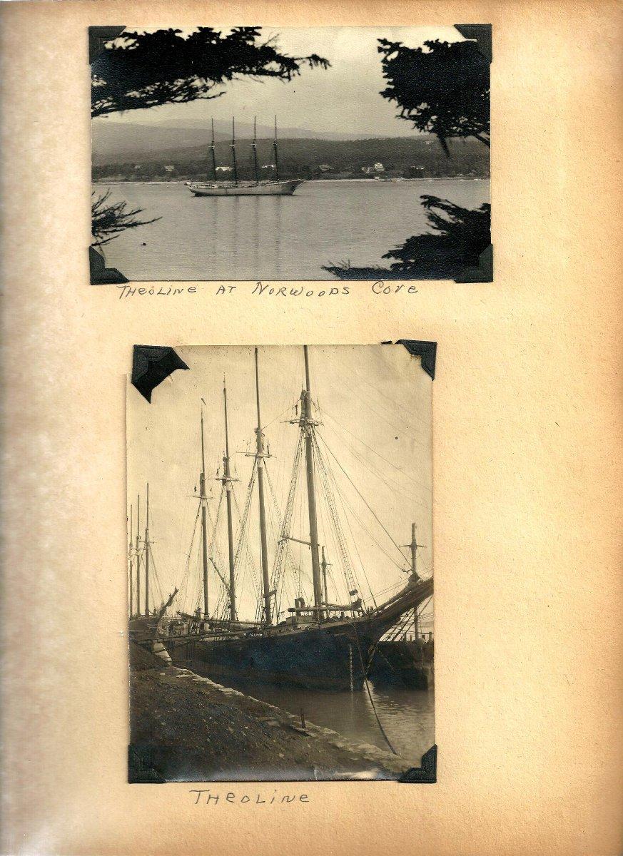 Captain John Latty & Schooner Theoline