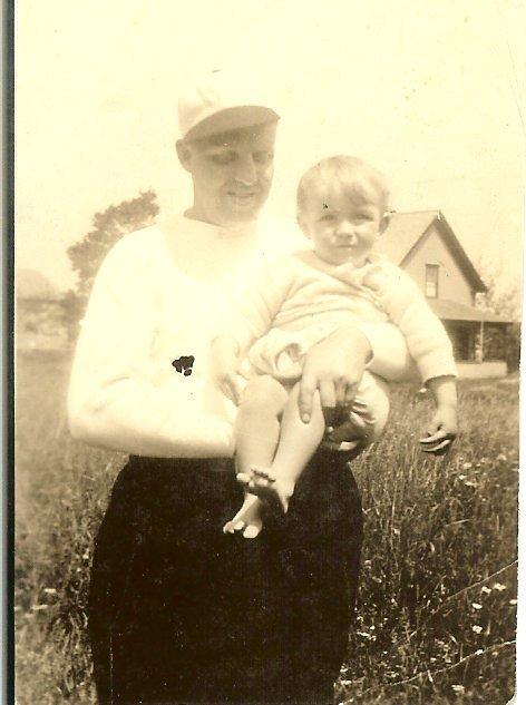 Paul R. Hinton, toddler