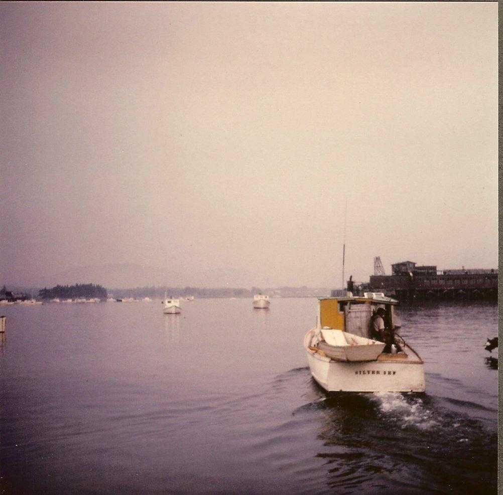 Charley Gott's boat, Silver Dew, Bass Harbor