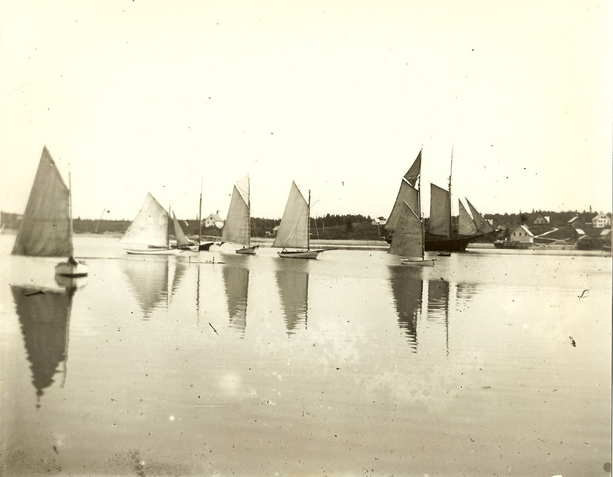 Bass Harbor 1900, friendship sloops