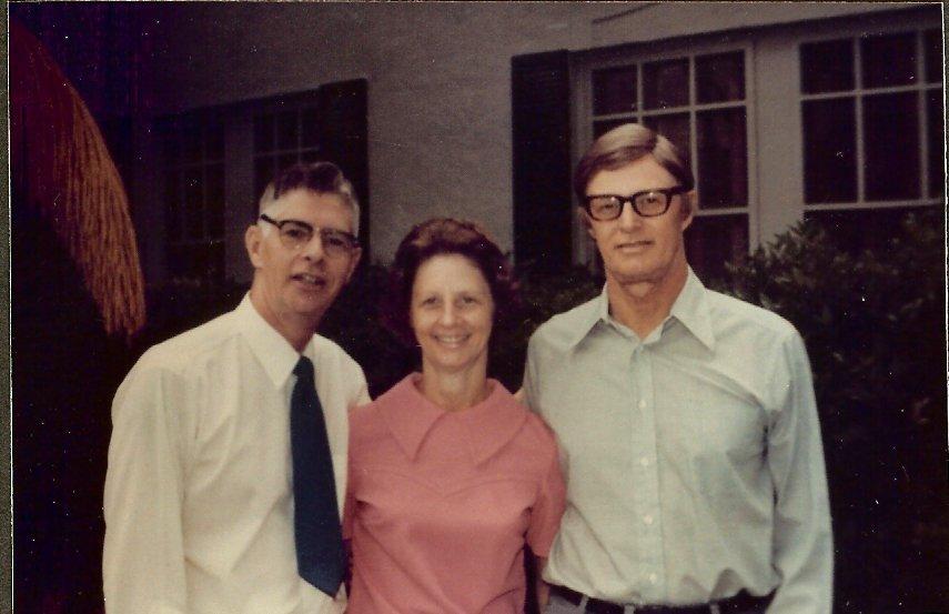 Billy, Gladys & Paul Dornfeld