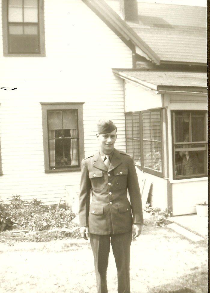 Lawrence Carter in uniform