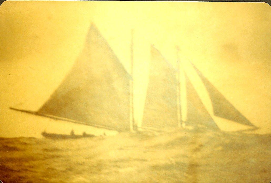 "Joshua Stanley sailing ship ""Lizzie Stanley"""