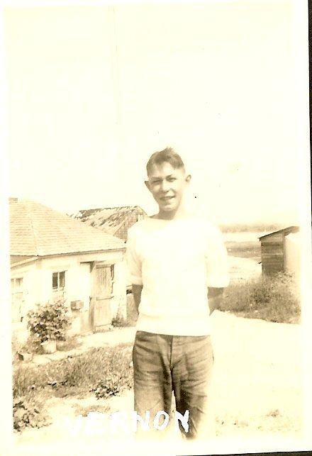 Vernon Lovejoy, young man