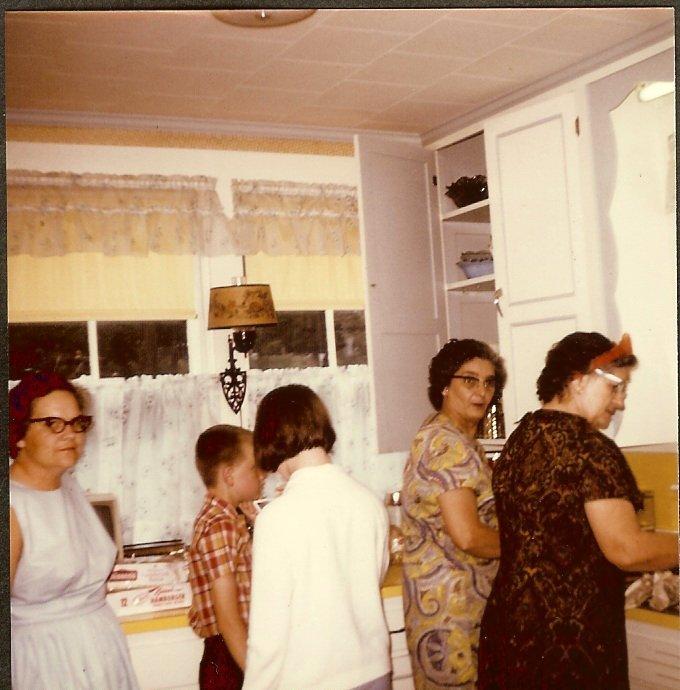 Sue, Mike, Sharon Stanley, Evelyn Gott