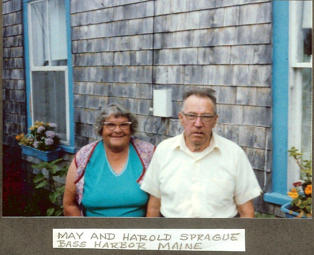 May & Harold Sprague