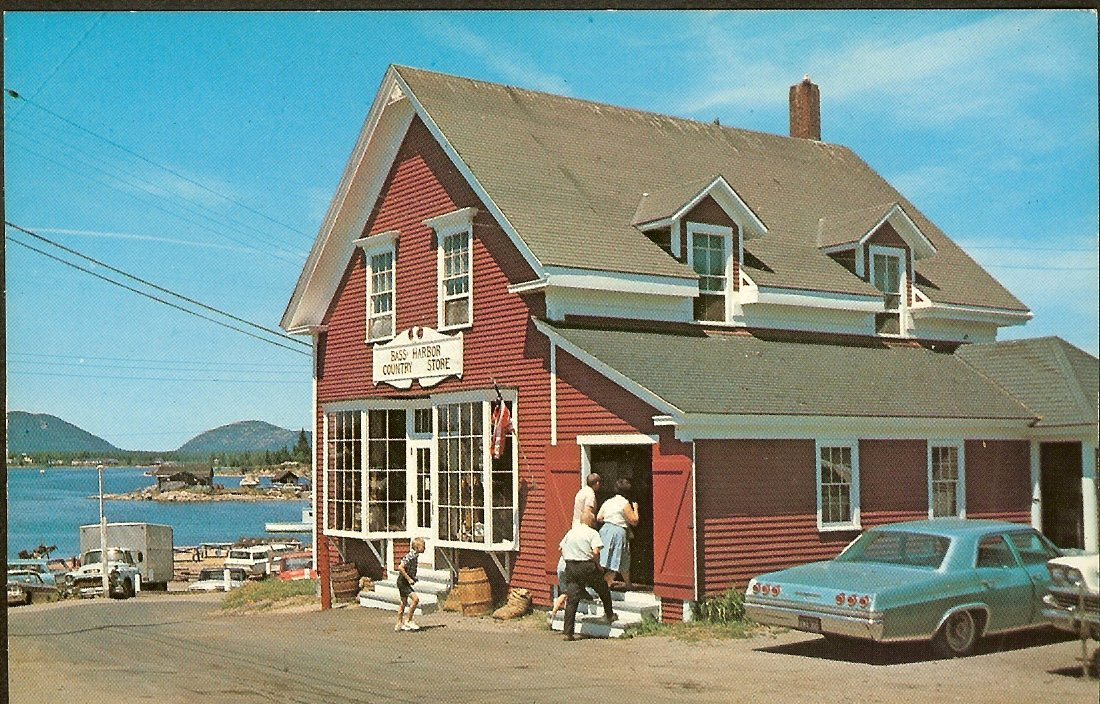 Bass Harbor Country Store, late 60's