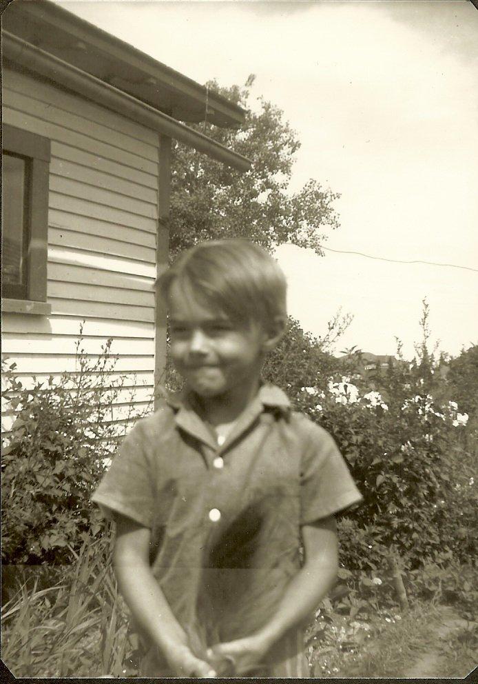 Bertram Butler, young boy