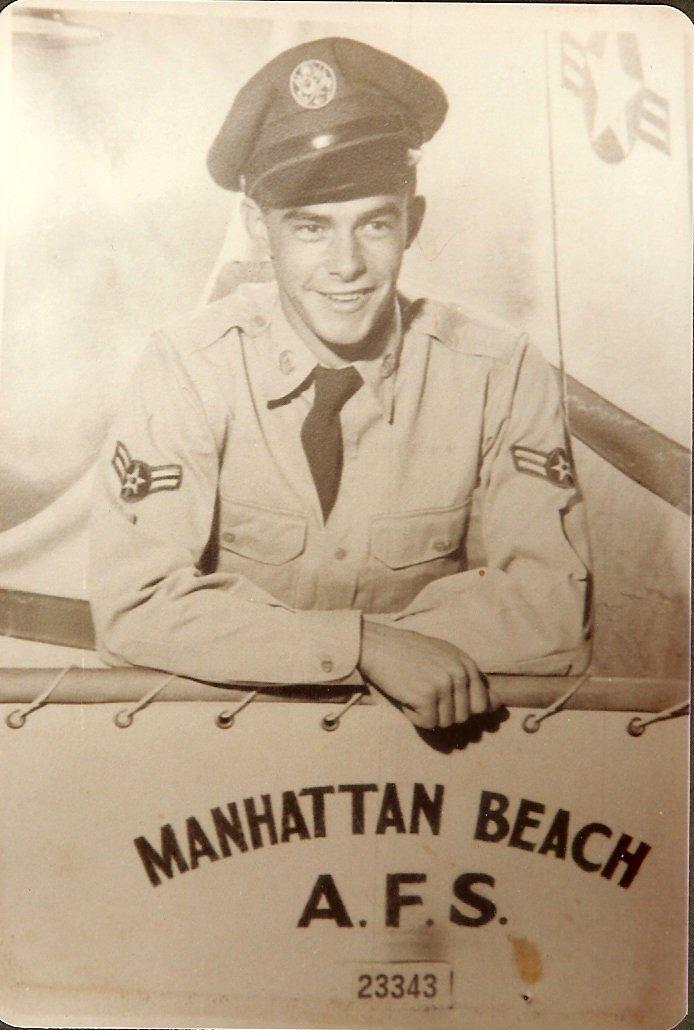 Bertram Butler in uniform