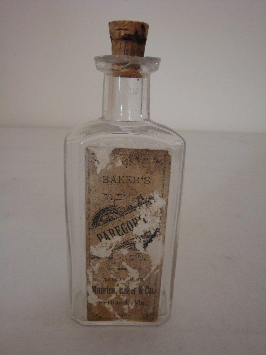 Paregoric bottle