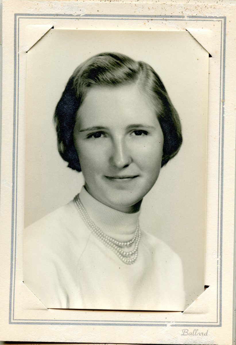 Trask, Muriel senior photo, 1959