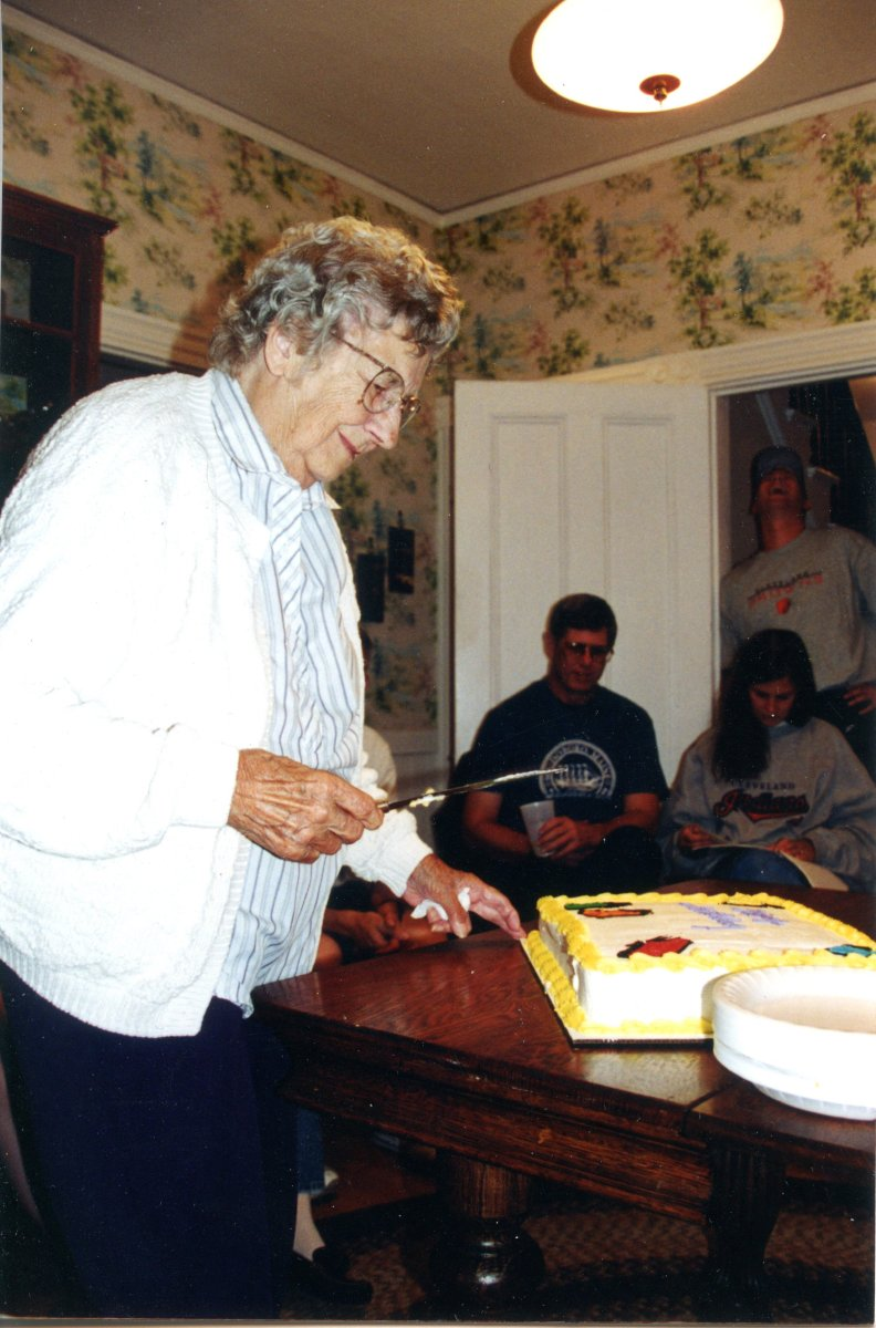 Moore, Esther,  90th birthday