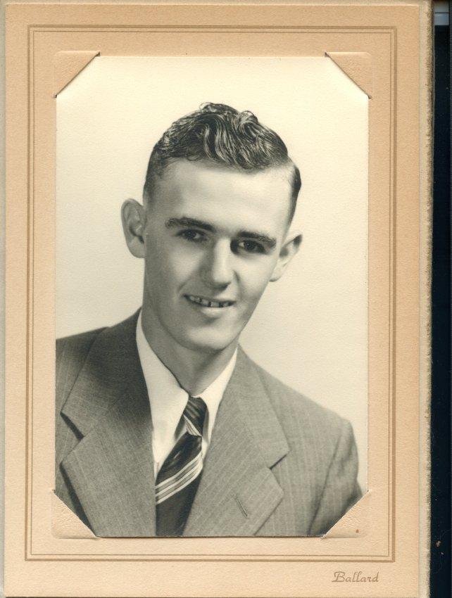 Seavey, Wendell S., Pemetic HS graduation photo