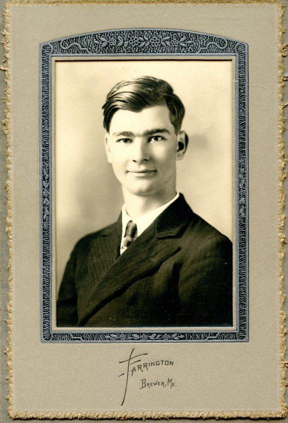 Nice, Frederick Millard, Pemetic HS graduation photo