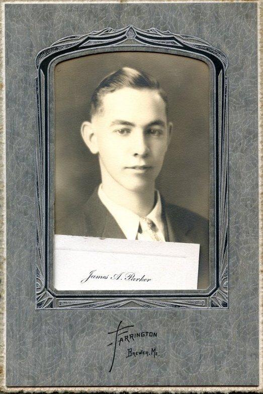 Parker, James A., Pemetic HS graduation photo