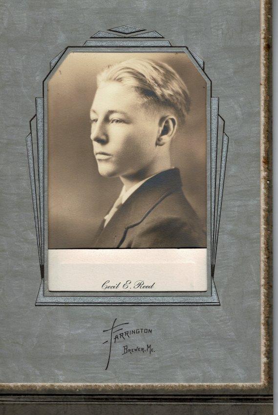 Reed, Cecil E., Pemetic HS photo