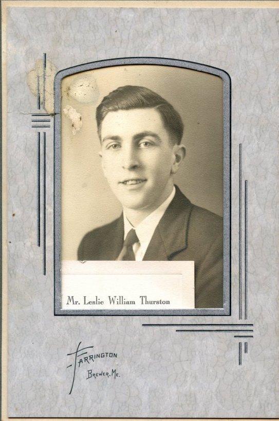 Thurston, Leslie William, Pemetic HS photo
