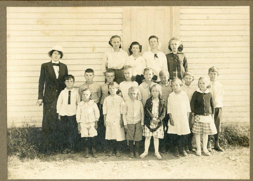 Gott's Island school c.1915