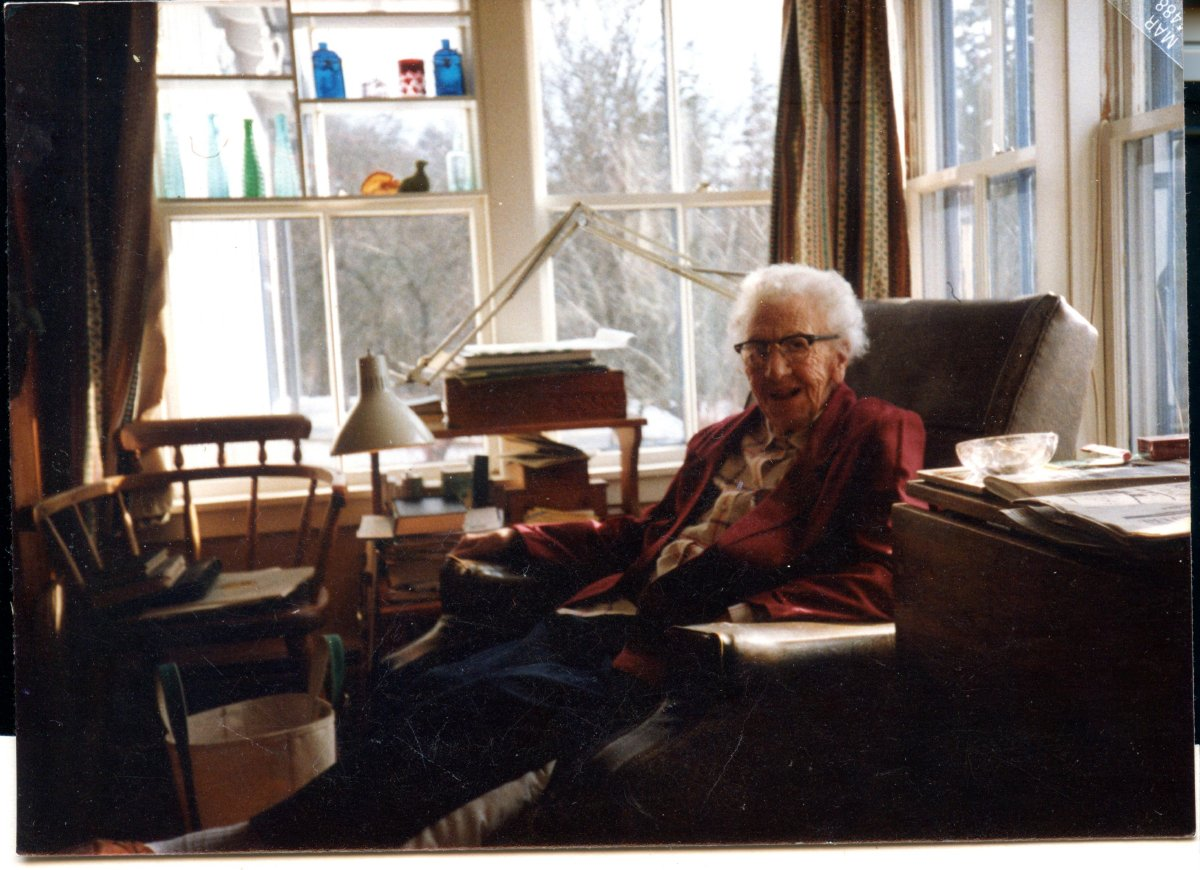 Moore, Ruth, later years