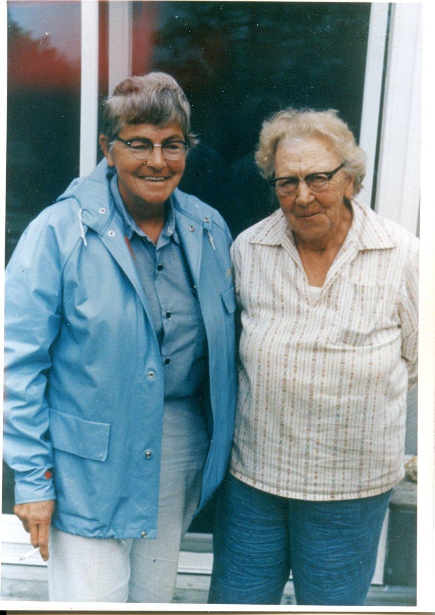 Moore, Ruth, and Eleanor Mayo, 1970's