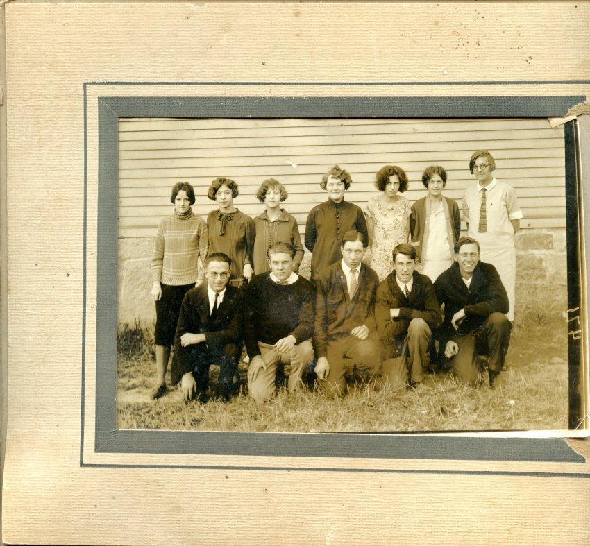 Pemetic Southwest Harbor High School, Class of 1927