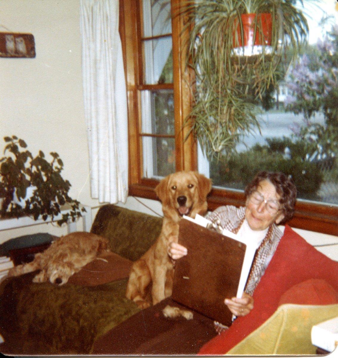 Mary Vedder Kamenoff, college classmate of Ruth Moore