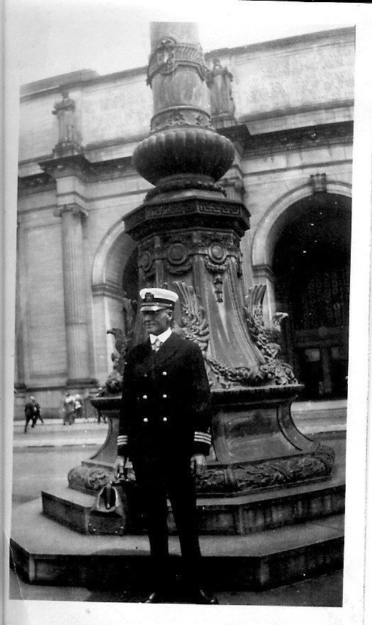 Loren W. Rumill in uniform, 1920