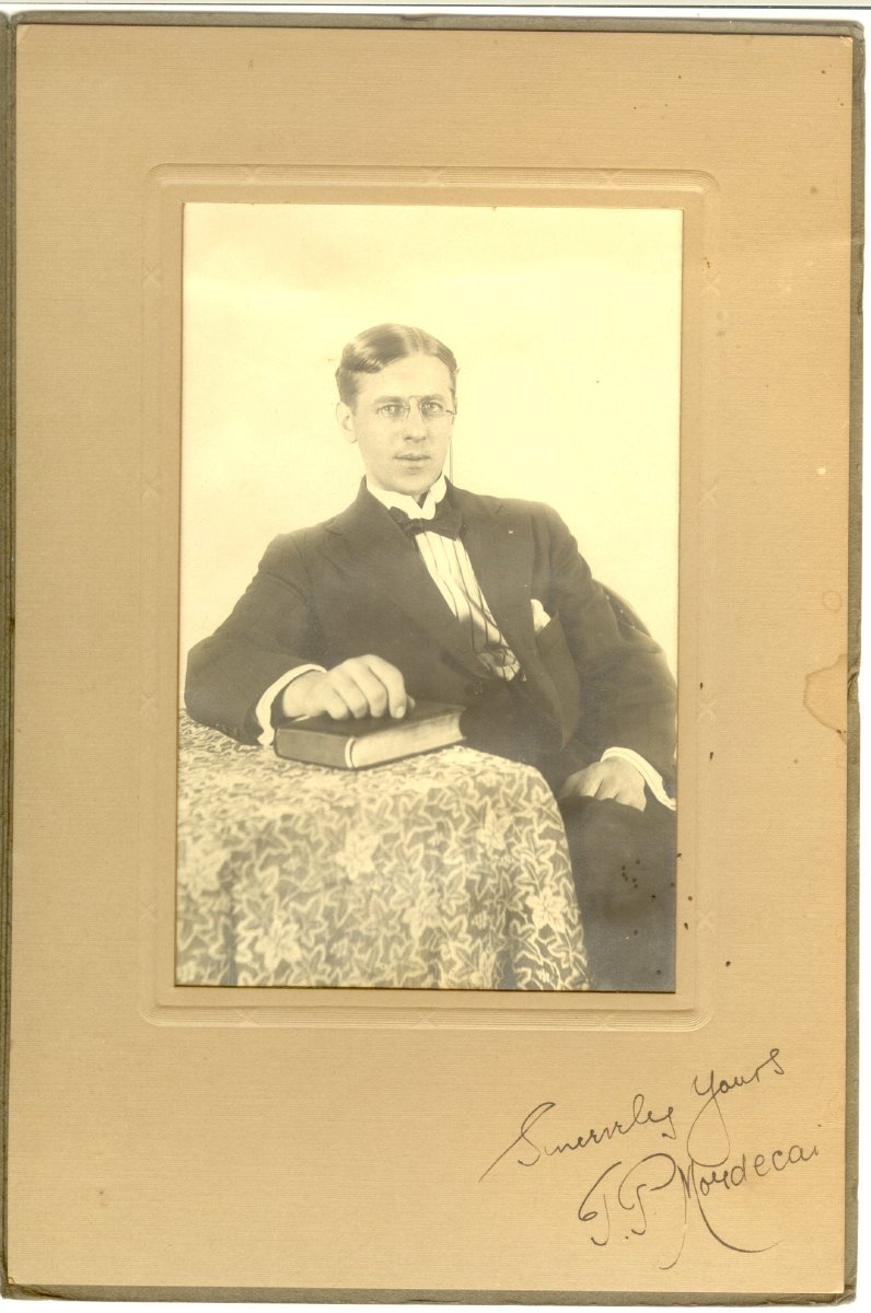 T.P. Mordecai, believed to be SW Harbor congregational clergyman