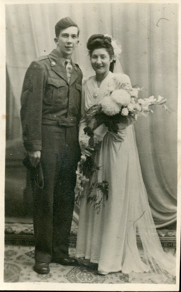 Granville E. Reed & wife, newlyweds