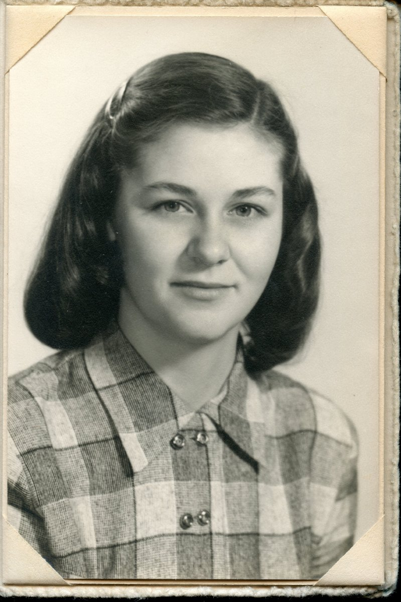 Stanley, Ruth Celestia, Pemetic senior class photo 1949