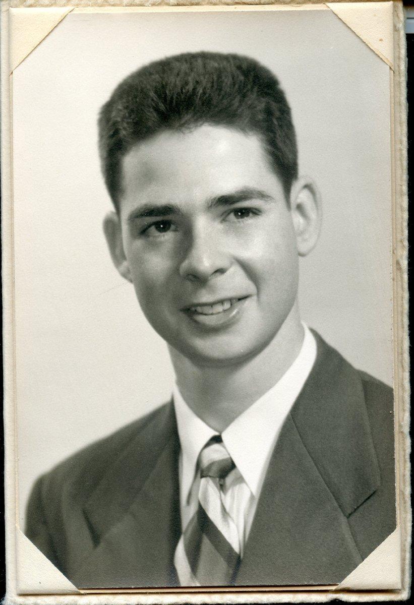 Fahey, Charles Pemetic HS senior photo, 1949