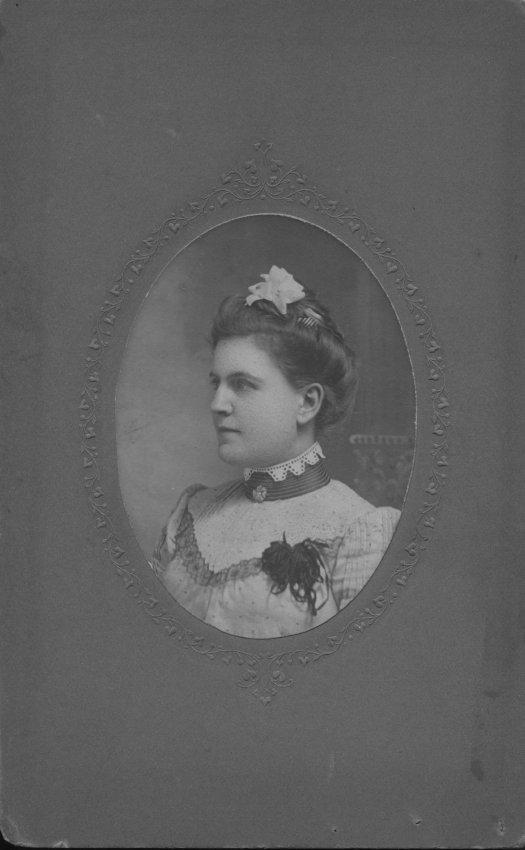 Trask, Flavilla Mary, formal photo