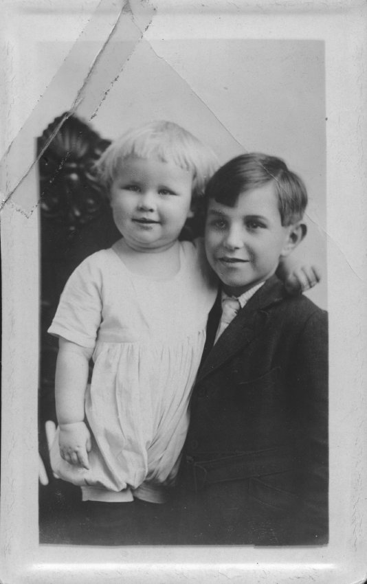 unknown boys, labeled Bob and Terrell?