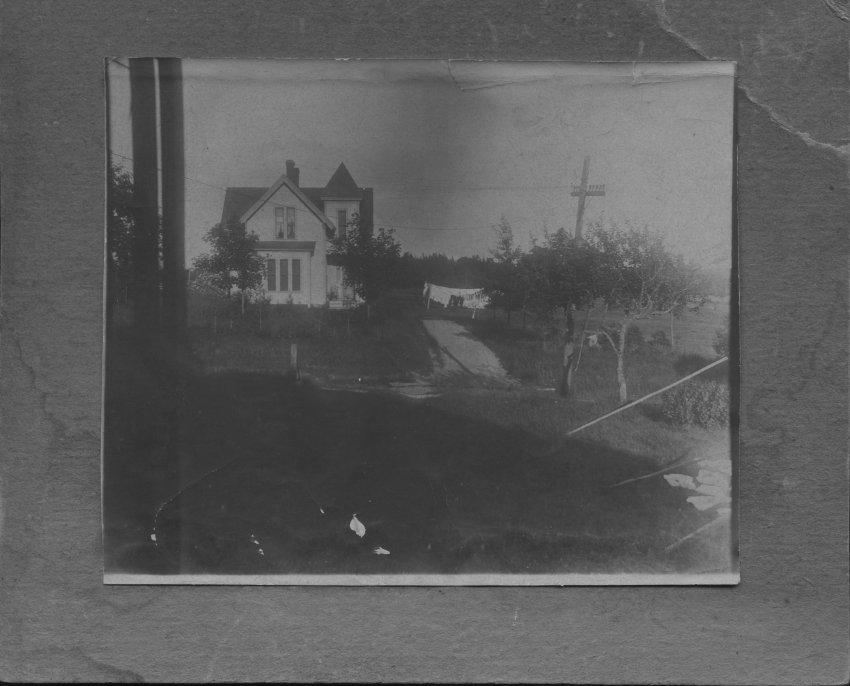 home of Elias Rich, Jr., near Cousins Creek