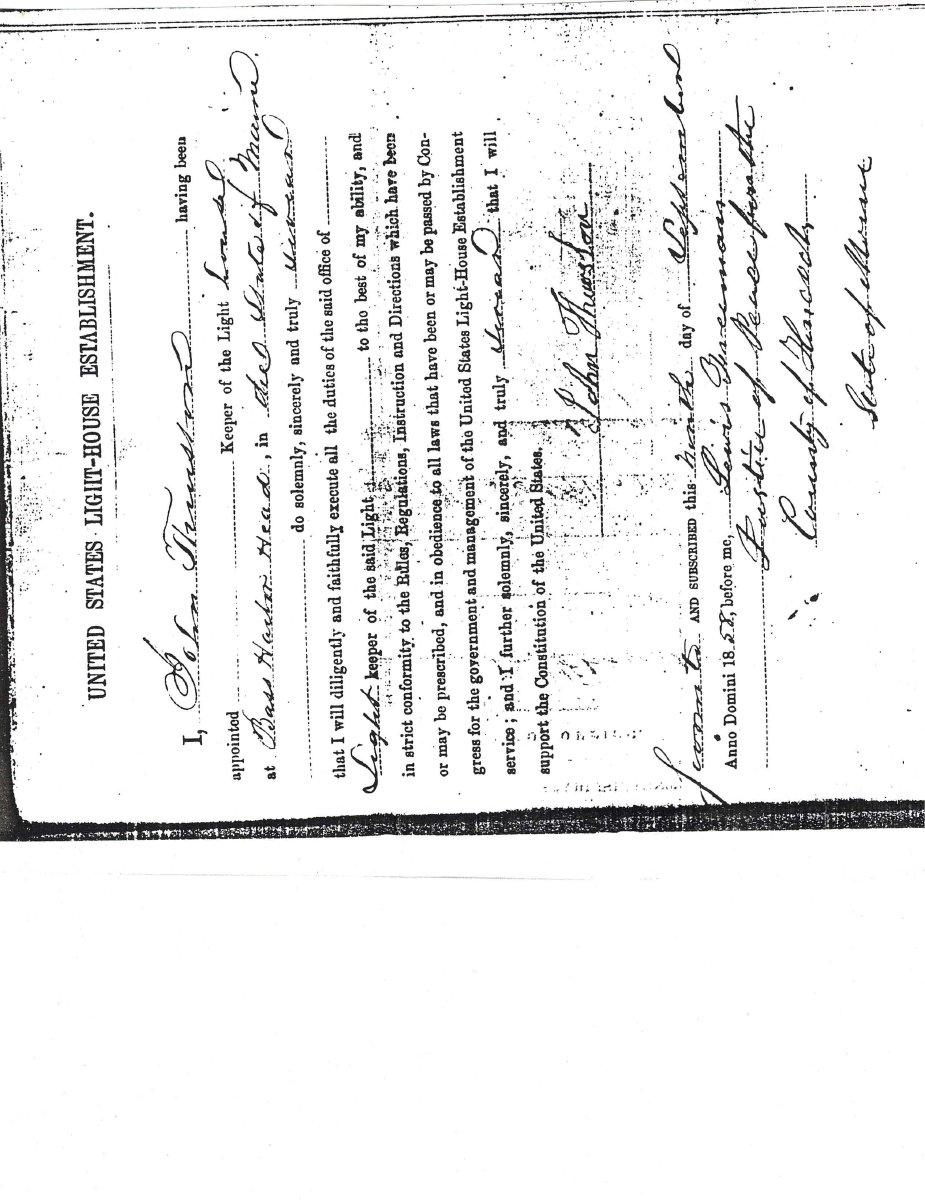 Swearing in Certificate
