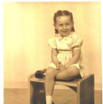 Image of Studio portrait of  girl -