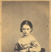 Image of Grace Vaughan as a Child -