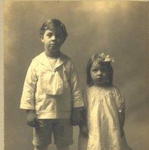 Image of Mahlon and Bonnie Settem Christmas Portrait -