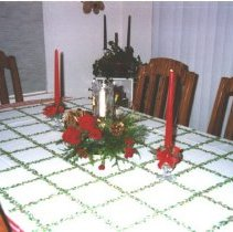 Image of Table Set for Christmas - Linda Ruehle Collection