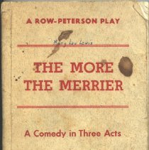 Image of Script: The More the Merrier -