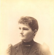 Image of Bust Portrait of Rebecca Wilson Tibbetts, 1893 -